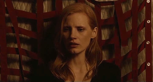 cry, crying, jessica chastain, sad, jessica crying GIFs