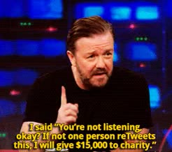 Watch Ricky gervais GIF on Gfycat. Discover more ricky gervais GIFs on Gfycat