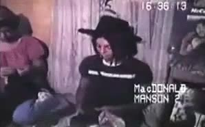 Watch and share Charles Manson GIFs and Manson Family GIFs on Gfycat