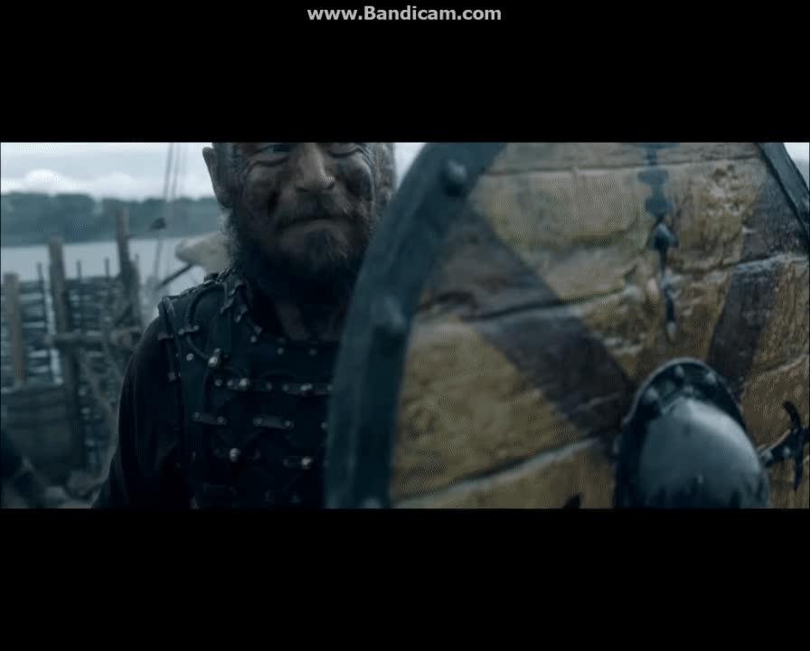 Ragnar vs Rollo : vikingstv GIFs