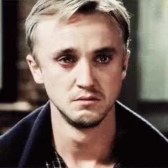 Watch and share Draco Malfoy GIFs on Gfycat