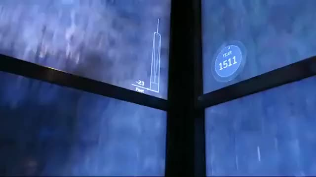 Watch and share The Elevators On The World Trade Center Tour Show A Timelapse Of New York's Architectural History GIFs by tothetenthpower on Gfycat