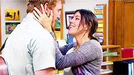 Watch ugh, reality. GIF on Gfycat. Discover more andy dwyer, april ludgate, april x andy, aubrey plaza, chris pratt, gif, look at me making gifs and all, my gifs, parks and rec, television GIFs on Gfycat