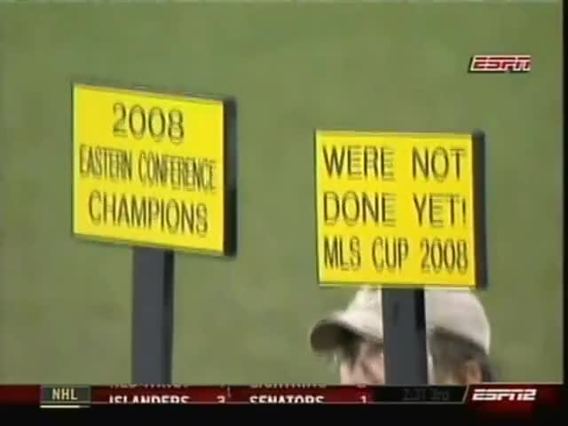Columbus Crew MLS 2008 Eastern Conference Champions part 2