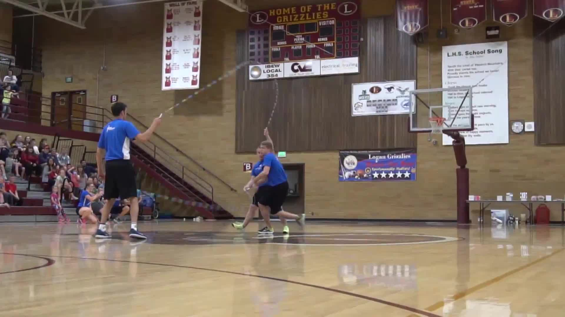 JOLT 2018, LJ jump rope, LJ lavecchia, basketball, just jumpin, tire swing, wejumprope, double dutch tricking GIFs