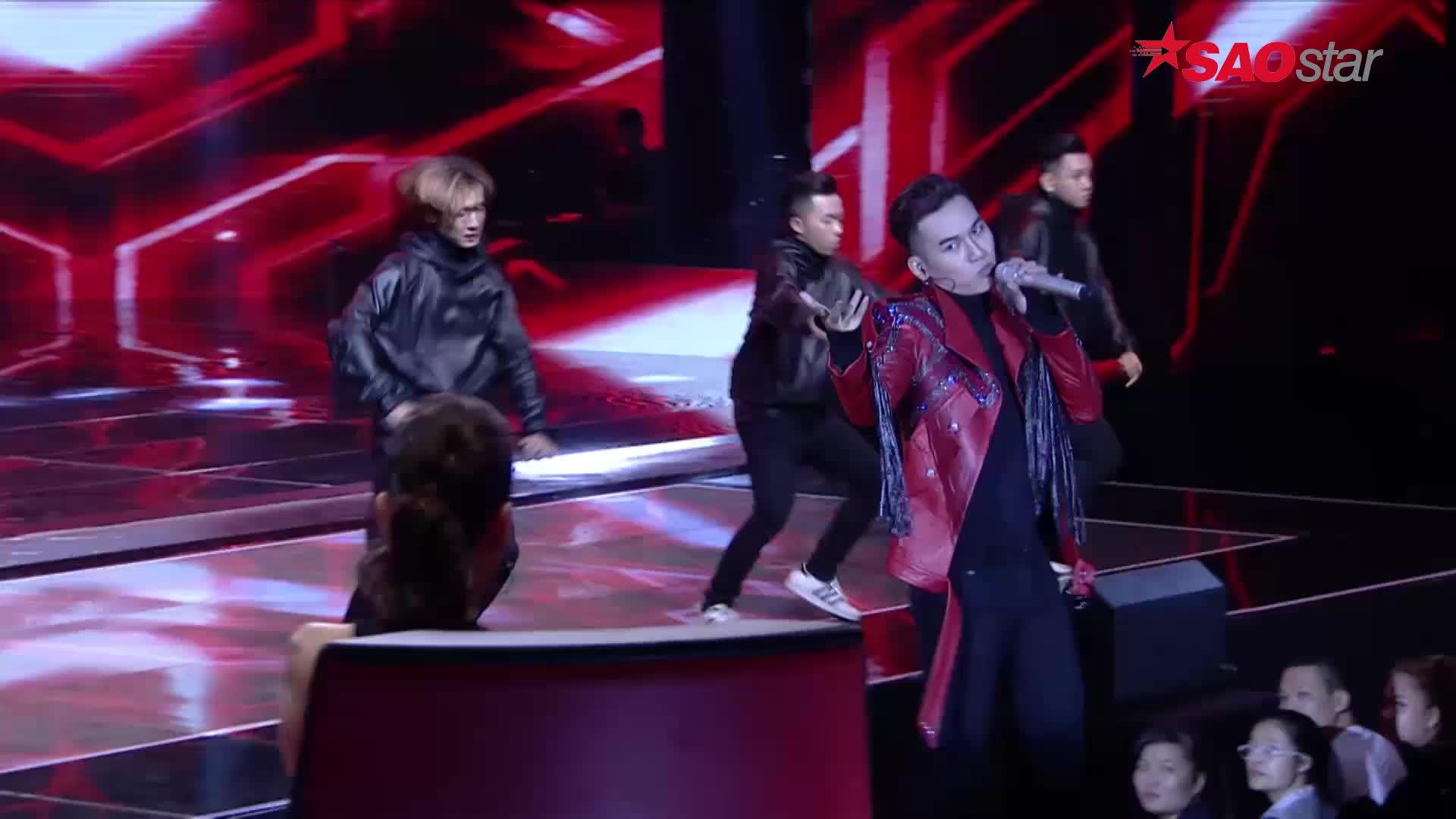 Vừa hát vừa thể hiện vũ đạo quyến rũ, Tóc Tiên khuyên Ali Hoàng Dương nên đi thi The Remix