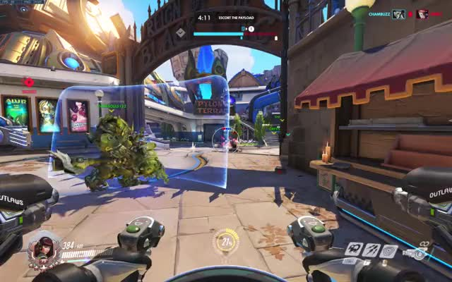Watch and share My Doomfist People Need Me GIFs on Gfycat
