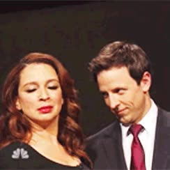 Watch and share Maya Rudolph GIFs and Seth Meyers GIFs on Gfycat