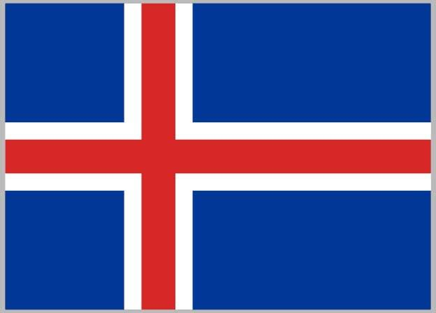 vexillology, Iceland to England V2 GIFs