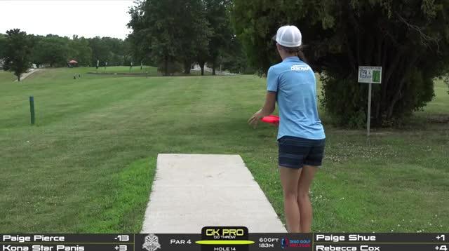 Watch and share Paige Pierce Ddo Hole 14 Roller GIFs by Benn Wineka UWDG on Gfycat
