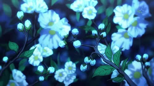 Watch anime flowers GIF on Gfycat. Discover more related GIFs on Gfycat