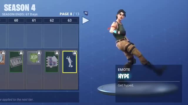Watch and share FORTNITE HYPE DANCE! (1 HOUR) GIFs on Gfycat
