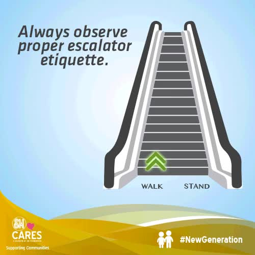 Watch and share Escalator GIFs and Smcares GIFs on Gfycat