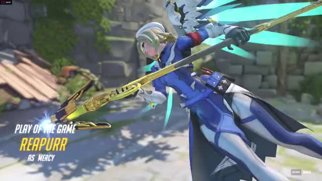 Watch and share Overwatch GIFs and Mercy GIFs by moilyjade on Gfycat