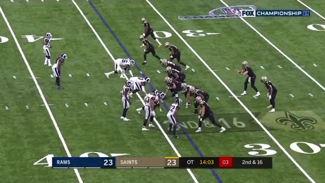 Watch Conference Championship: Brees INT GIF by Matt Weston (@mbw987) on Gfycat. Discover more football GIFs on Gfycat