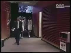 nbacirclejerk, LeBron James kicking Deron Williams GIFs