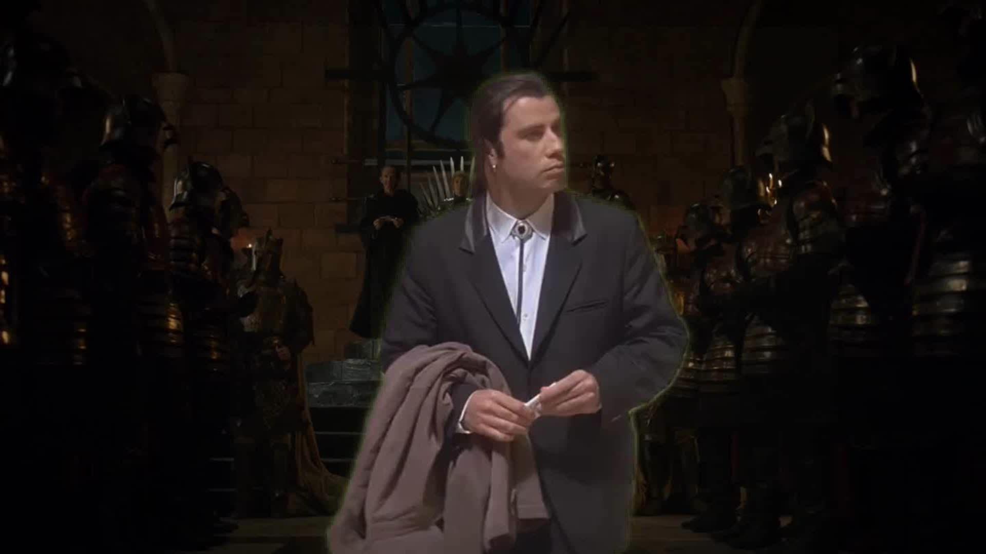 John Travolta, asongofmemesandrage, You're fine with this? GIFs