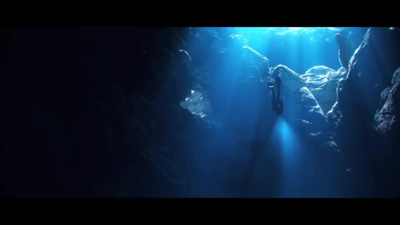 Aliens, cinematic, crash, destiny2, diving, launch, ocean, spaceship, subnautica, underwater, Subnautica Cinematic Trailer GIFs