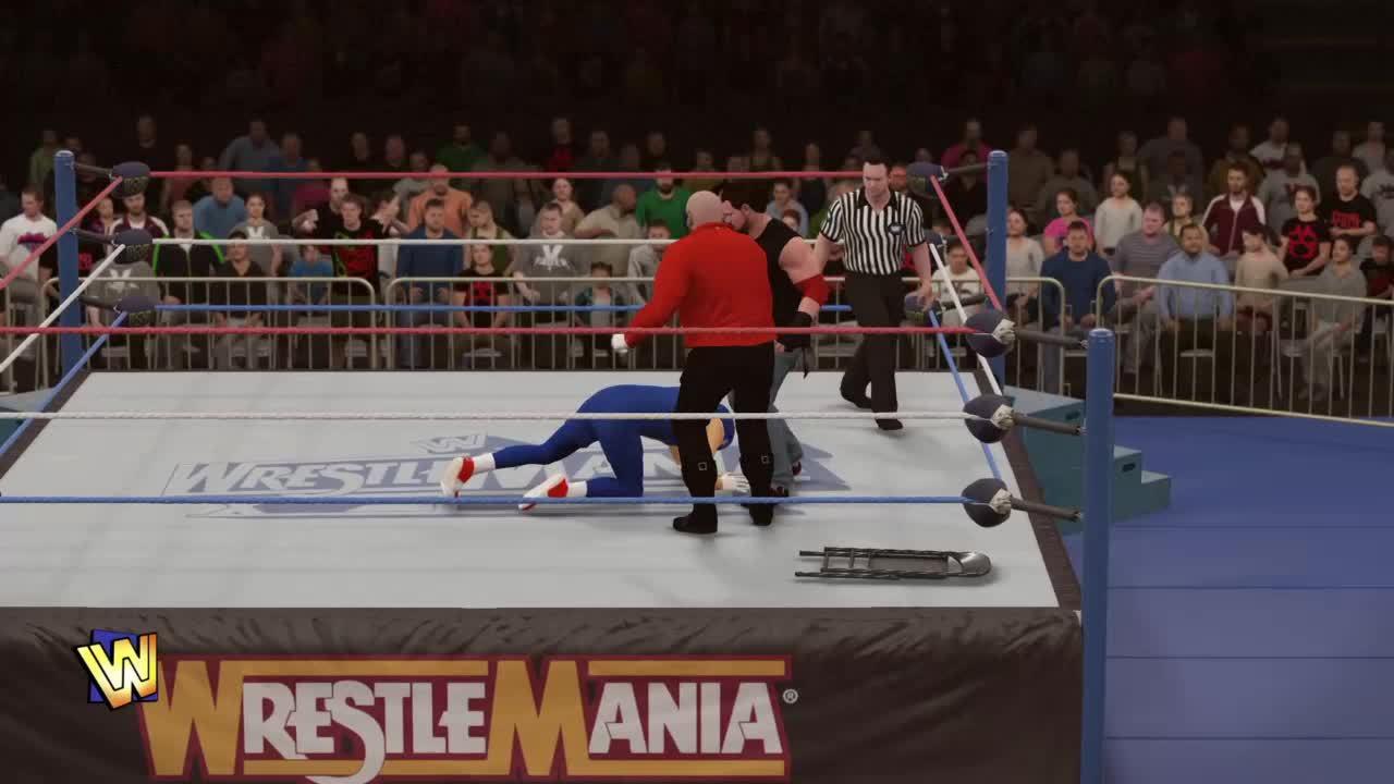 gamephysics, wwegames, Wrestling's Fake (WWE 2k16) GIFs