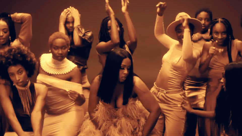 brown, chris, chris brown, clip, dance, dancing, girls, hot, ma, magic, melanin, move, new, party, perform, pretty, remy, remy ma, sexy, song, Remy ma - Melanin Magic Pretty Brown GIFs
