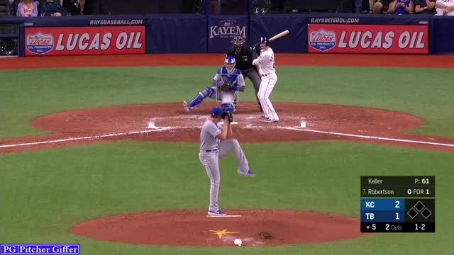 Watch and share Kansas City Royals GIFs and Brad Keller GIFs by Pitcher Giffer on Gfycat