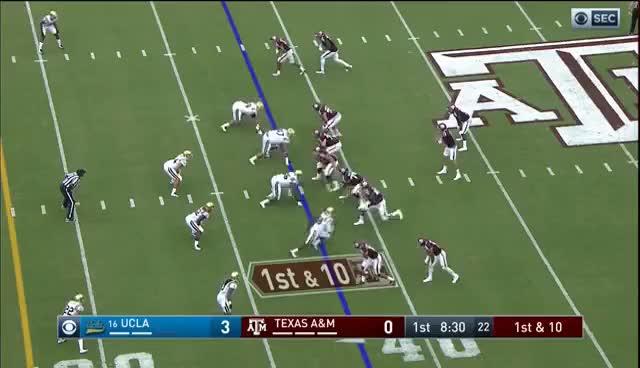 Watch and share UCLA Vs Texas A&M Football 2016 GIFs on Gfycat