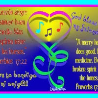 Watch and share Proverbs -Proverbios 17:22 GIFs on Gfycat