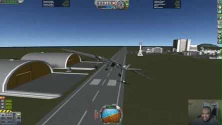 Watch A Most Terrifying Safe Landing • r/KerbalSpaceProgram GIF on Gfycat. Discover more related GIFs on Gfycat