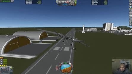 A Most Terrifying Safe Landing • r/KerbalSpaceProgram GIFs