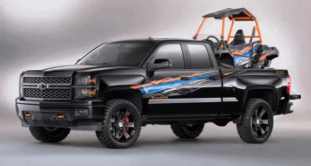 Watch and share Chevrolet Silverado Z71 Polaris ACE+ Concept Is Fresh For SEMA GIFs on Gfycat