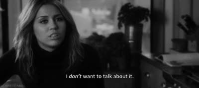 Watch dont wanna talk GIF on Gfycat. Discover more miley cyrus GIFs on Gfycat