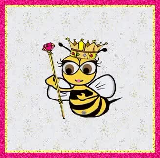 Watch and share Queen Bee Cute Animation GIFs on Gfycat