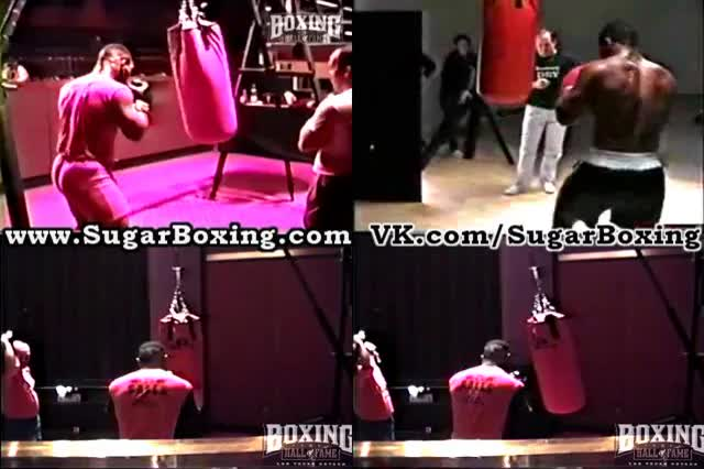 Watch SugarBoxing Jab - Low Right Hand - Left Hook combo Mike Tyson GIF by sugarboxing on Gfycat. Discover more related GIFs on Gfycat
