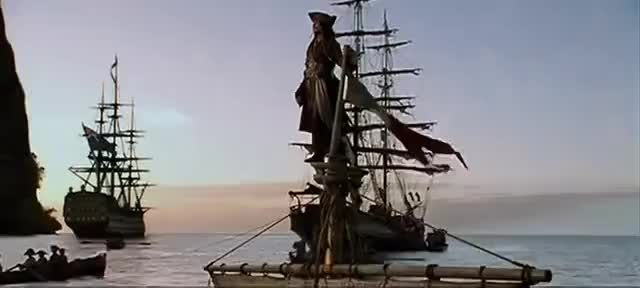 Watch and share Jack Sparrow Intro Scene GIFs on Gfycat