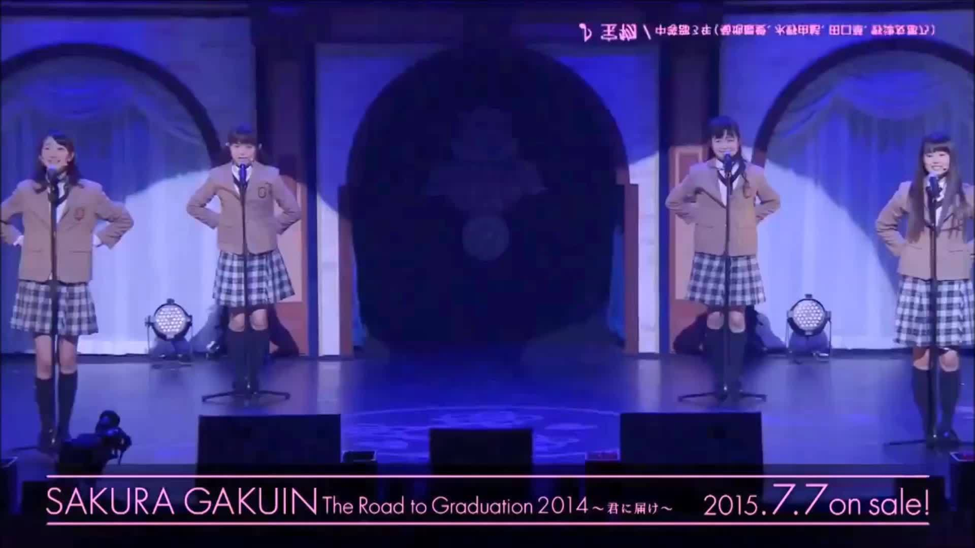 sakuragakuin, This has the potential to become my absolute favorite live performance of theirs. (reddit) GIFs