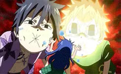 Watch and share Fairy Tail Rewatch GIFs and Gray Fullbuster GIFs on Gfycat