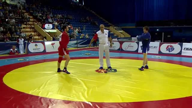 Watch and share Knee Pick To Calf Slicer (2017 European Sambo Championships) GIFs by tpgrant on Gfycat