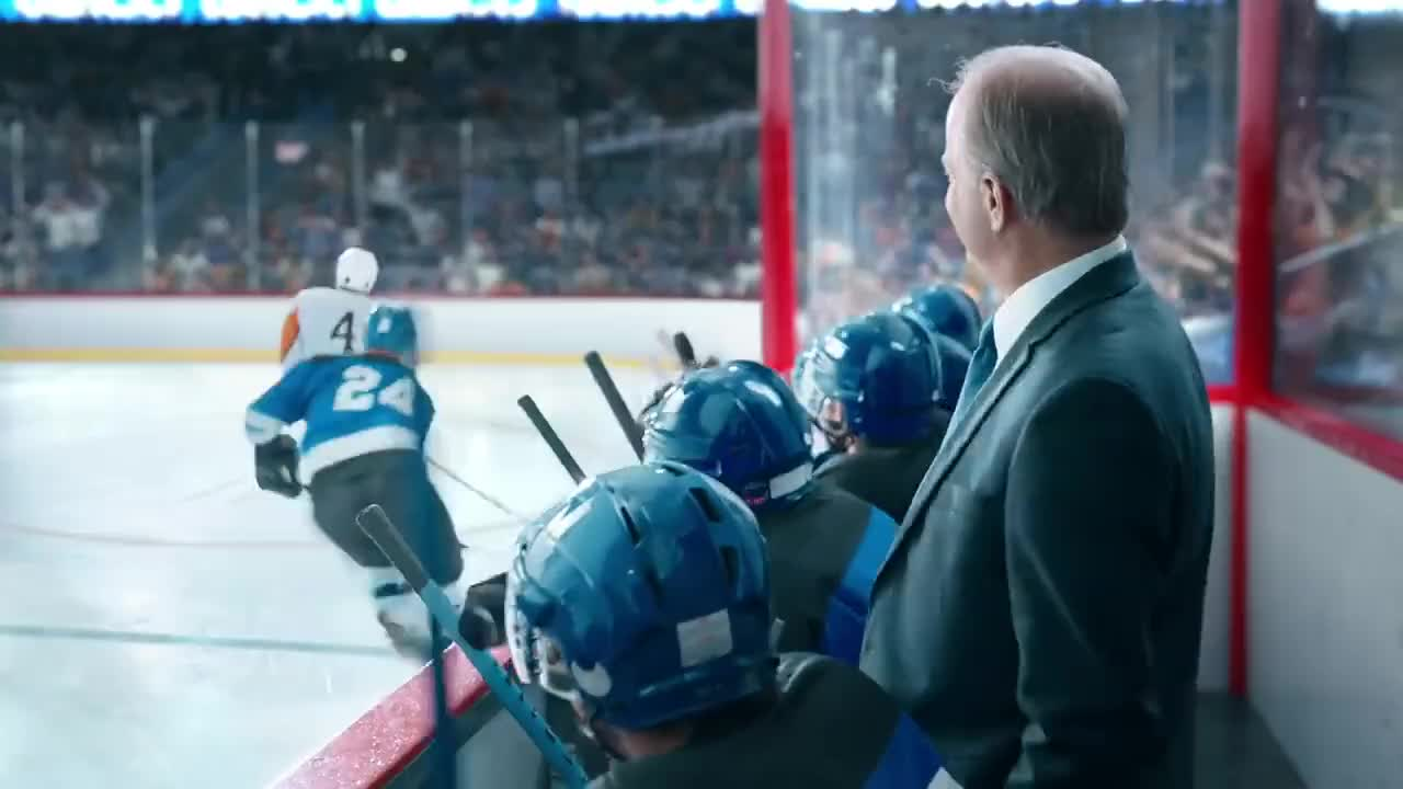 24, ad, best, car, comedy, cute, duncan, easy, funny, game, geico, hockey, ice, player, ridiculous, rink, skates, spoof, stick, walrus, Walrus Goalie - GEICO Insurance GIFs