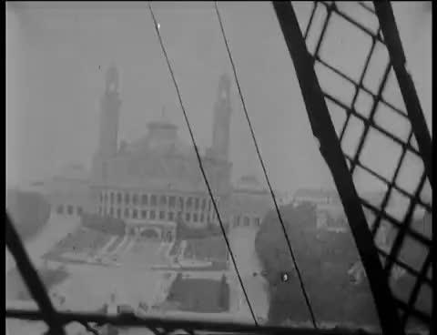 Watch and share Panorama Pendant L'ascension De La Tour Eiffel (1897) GIFs on Gfycat