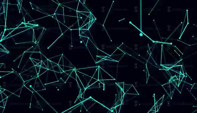 Watch and share Futuristic Technology Background. Loop Abstract Line And Polygon Animation. 4k GIFs on Gfycat