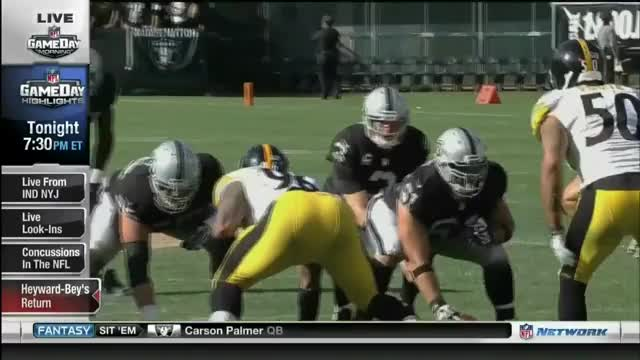 Watch and share Darrius Heyward-Bey Gets Knocked Unconscious (reddit) GIFs on Gfycat
