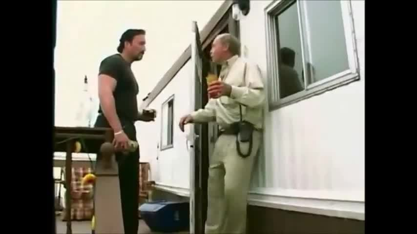 5 Minutes Of Drunk Mr Lahey Falling Down Stairs Gif Find Make