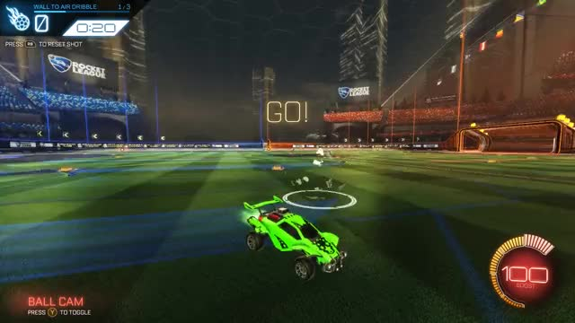 Watch and share Rocket League GIFs and Air Dribble GIFs by iPJoKeR on Gfycat