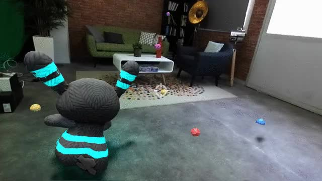 Watch and share ZED Mixed-Reality - Physics And Navigation GIFs by Stereolabs on Gfycat