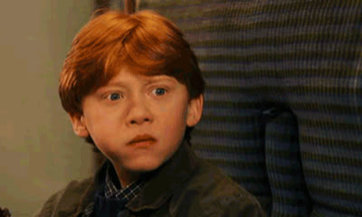 I, confused, grint, harry, idea, no, potter, ron, rupert, see, seriously, surprise, surprised, way, Ron is Confused GIFs