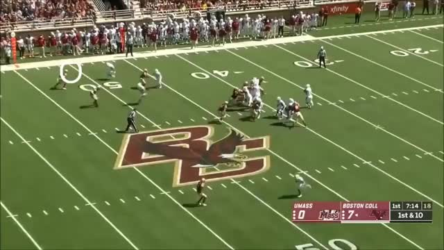 Watch and share Andy Isabella (Massachusetts WR) Vs. Boston College 2018 GIFs on Gfycat