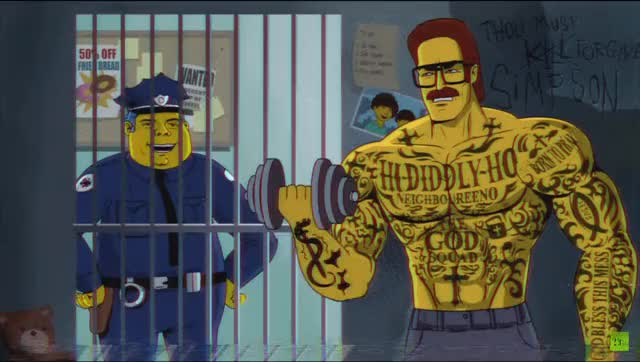 Watch and share Nedflanders GIFs and Thesimpsons GIFs on Gfycat