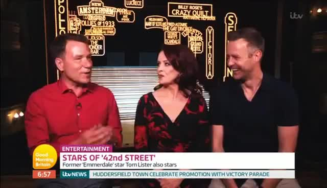 Watch and share Sheena Easton And Tom Lister Good Morning Britain 31 05 17 GIFs on Gfycat