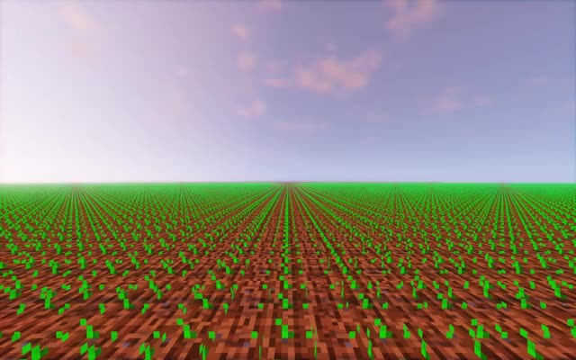 Watch and share Minecraft Wheat Growing GIFs by tactical_hog on Gfycat