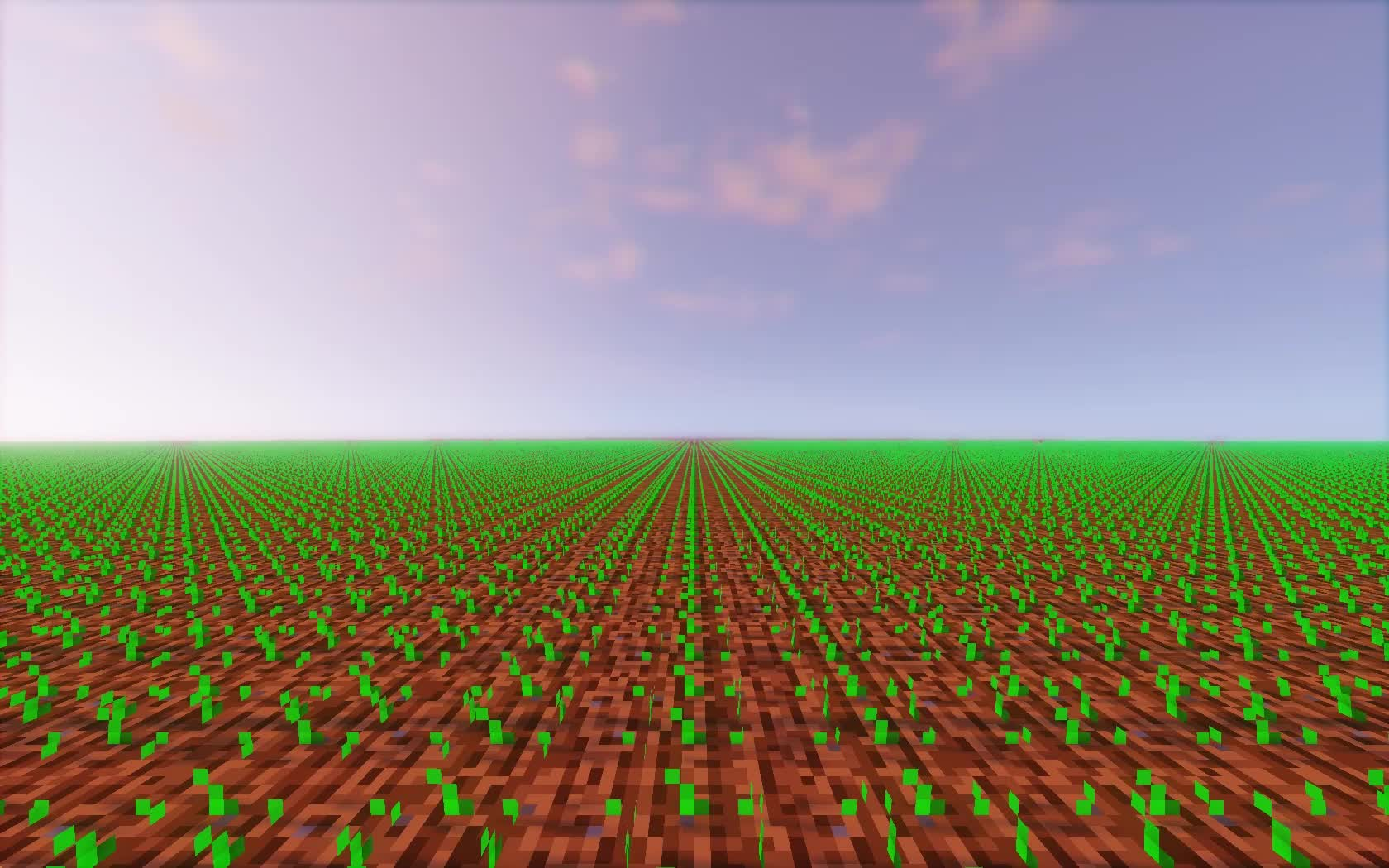 Minecraft wheat growing GIFs